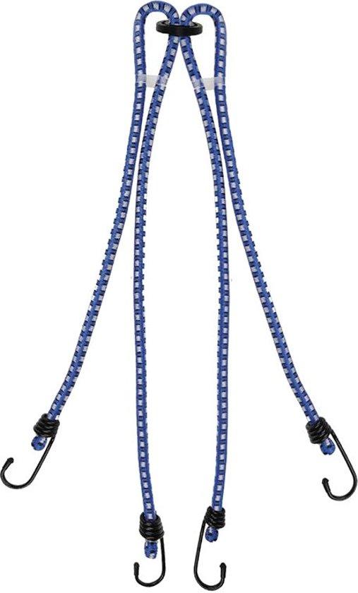 Proplus Bagagespin 4-armig 10 Mm Blauw 60 Cm