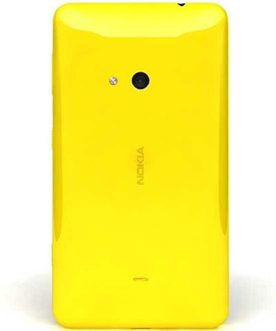 watch bbe80 3d8e6 Nokia cover - geel - voor Nokia Lumia 625