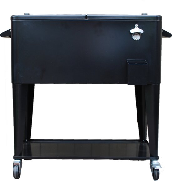 Patio Cooler Black