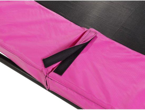 EXIT Silhouette inground trampoline ø427cm - roze