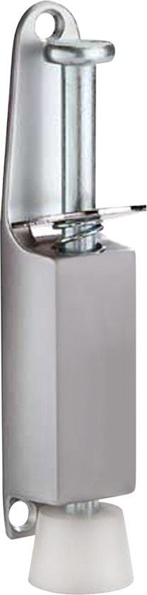 Qlinq Deurvastzetter Klein - Zilver - 130 mm