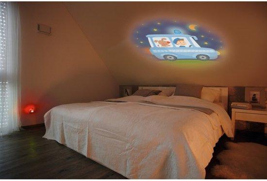 Haba Nachtlampje Sensor Droomvoertuigen Rood 8 Cm
