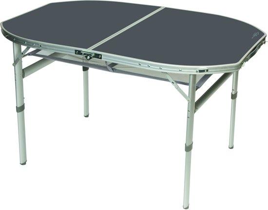 Bol.com bo camp tafel ovaal koffermodel 120x80 cm