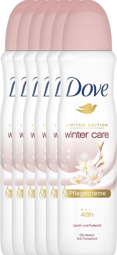 Dove Women Wintercare - 150 ml - Deodorant -  6 stuks - Voordeelverpakking