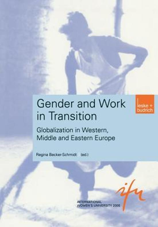 Gender and Work in Transition