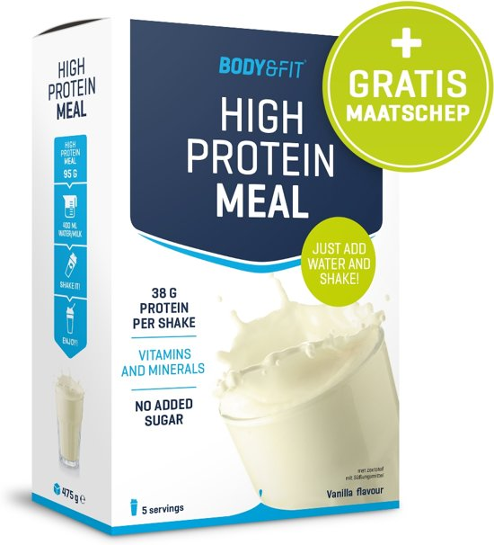 Body & Fit High Protein Meal  - Weight gainer - 475 gram - Strawberry