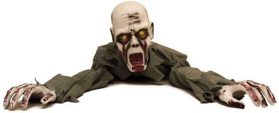 Geluiden Halloween.Halloween Halloween Versiering Kruipende Zombie Met Licht En Geluid 100 Cm