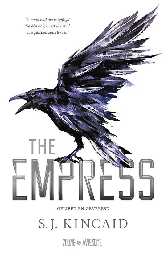 Boek cover Young & Awesome - The Empress van S.J. Kincaid (Onbekend)