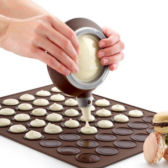 Keuken Roast groot formaat siliconen pad + omlijst Pot + kleur doos bakken Macaron Vorm pak