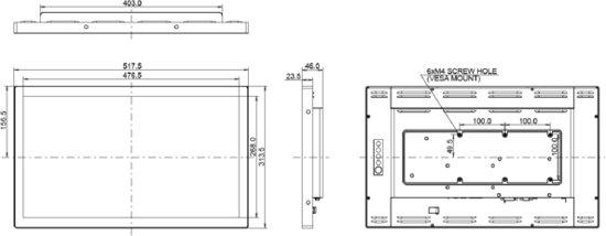 iiyama ProLite TF2234MC-B3AGB 21.5'' 1920 x 1080Pixels Multi-touch Multi-gebruiker Zwart touch screen-monitor