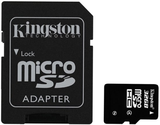 Kingston 32 GB Micro SD kaart