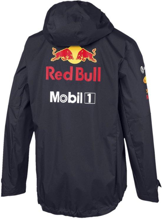 PUMA Red Bull Racing Team Rain Jacket Jas Heren - Night Sky