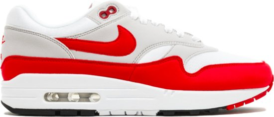 bol.com | Nike Air Max 90/1 - Sneakers - Rood/Wit - Dames ...