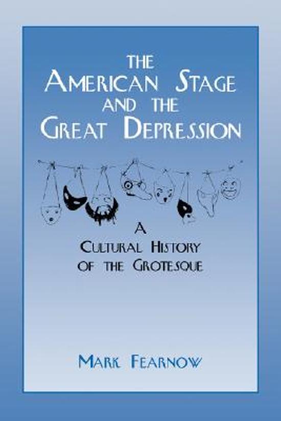 a grotesque depression