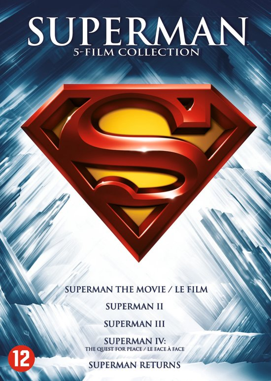 DVD cover van Superman Collection 1-5 (1978 t/m 2006)