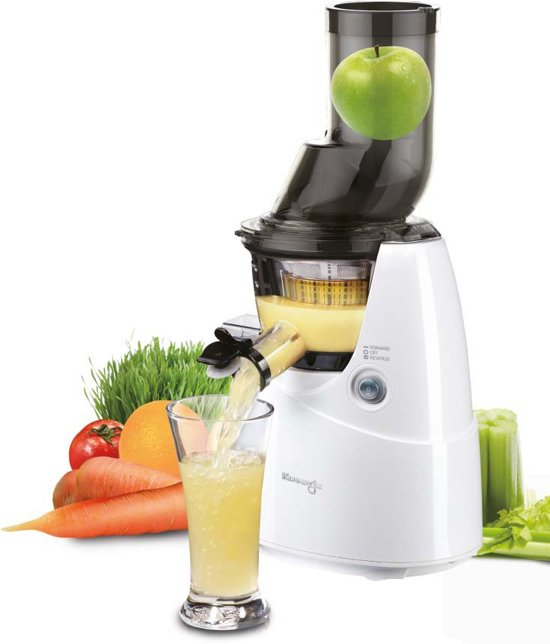 Kuvings Big Mouth B6000 - Slowjuicer - Wit