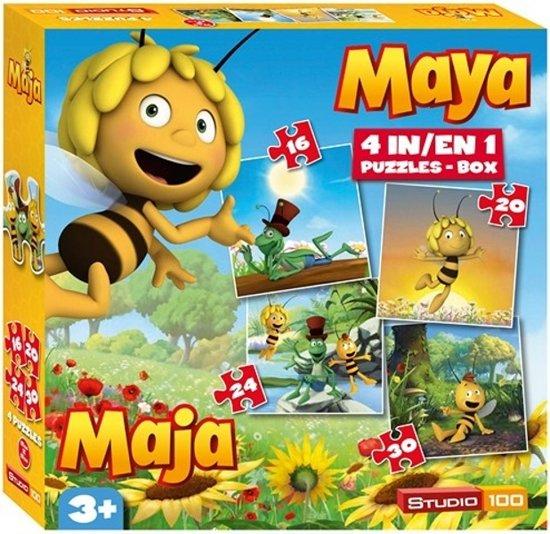 Maya de Bij Puzzel 4-In-1 - Puzzel