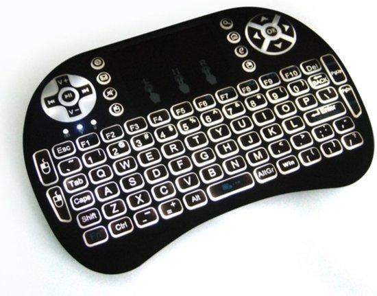 i8 Mini wireless Keyboard, draadloos toetsenbord met BACKLIGHT