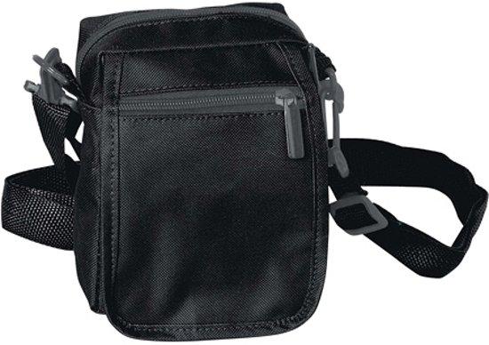 Zwart schoudertas - Schoudertas - Volwassenen - Zwart