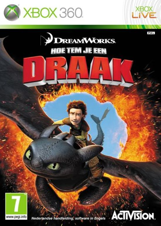 how to train your dragon game xbox