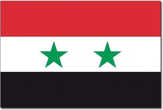 Vlag Syrie 90 x150 cm