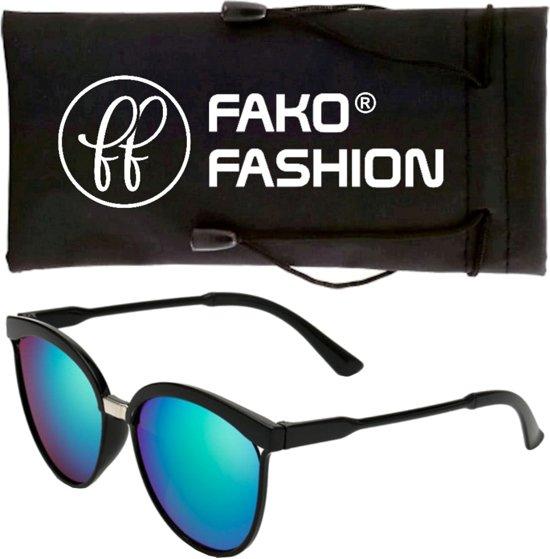 bol.com   Fako Bijoux® - Zonnebril - Clubmaster - Spiegel Groen d19420640392