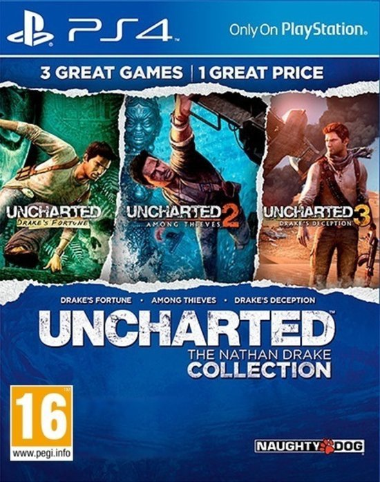 Uncharted: The Nathan Drake Collection - PS4 (Import Versie) kopen