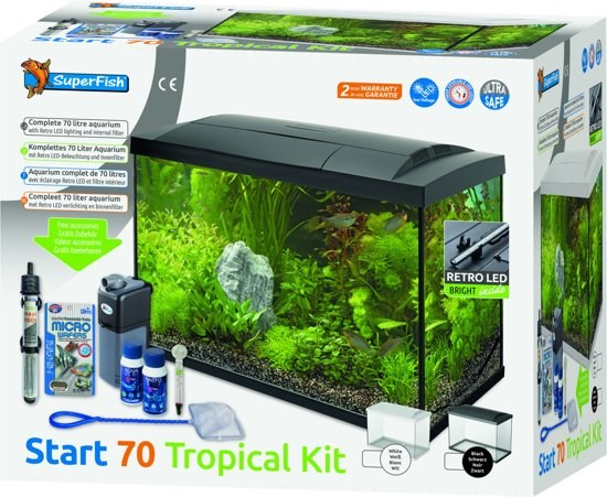 Bolcom Superfish Aquarium Start 70 Tropical Wit 58 X