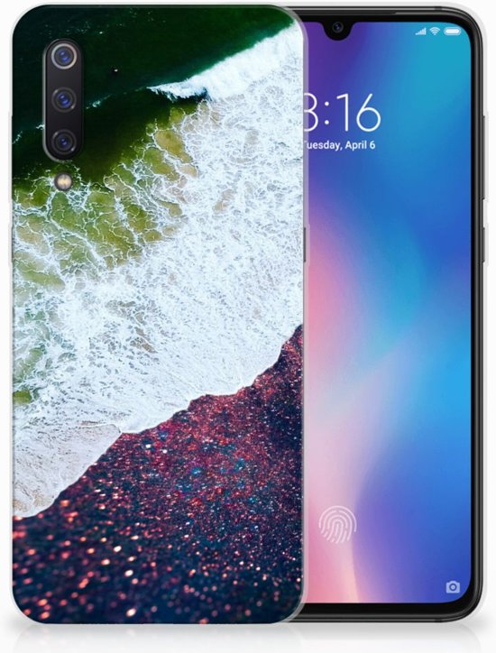Xiaomi Mi 9 TPU Hoesje Design Sea in Space
