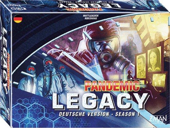 Pandemic - Legacy - Blau