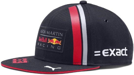 PUMA Red Bull Racing Verstappen Cap Kinderen - Night Sky/Chinese Red