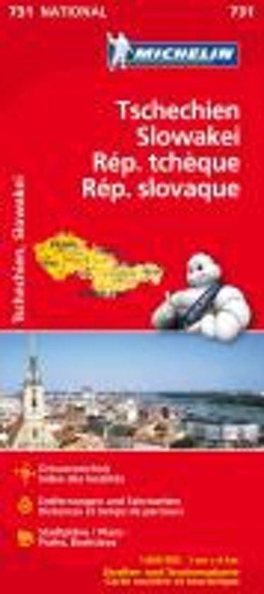 Tschechien / Slowakei 1 : 600 000 Nationalkarte