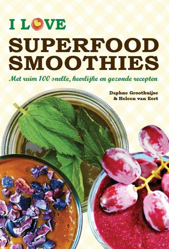 I love superfood smoothies