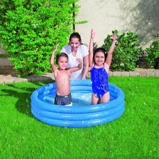 Bestway Kinderzwembad Play Blauw 102 X 25 Cm