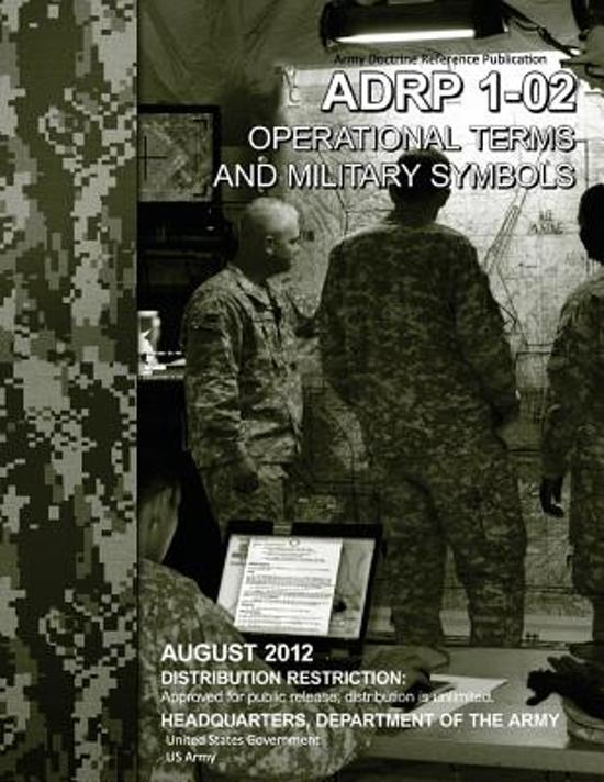 Bol Army Doctrine Reference Publication Adrp 1 02 Operational