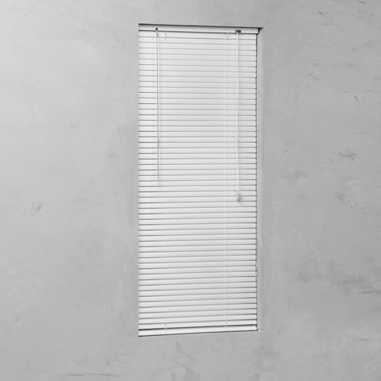 Pure Living - Aluminium jaloezie - 25mm - 90x250 cm - Wit
