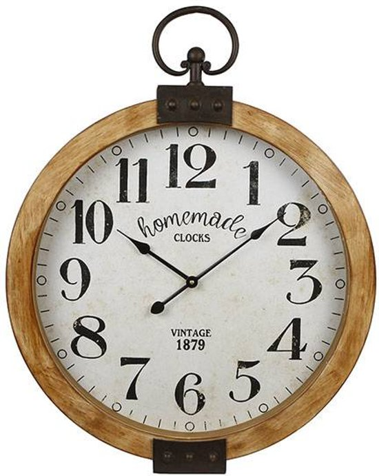 Wandklok Homemade - Ã50 cm