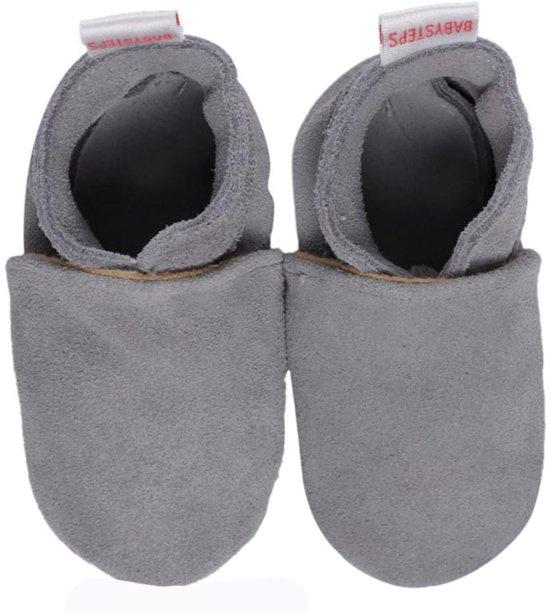 BabySteps slofjes Plain Grey extra small