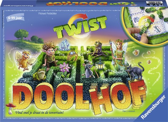 Ravensburger Doolhof Twist - kinderspel