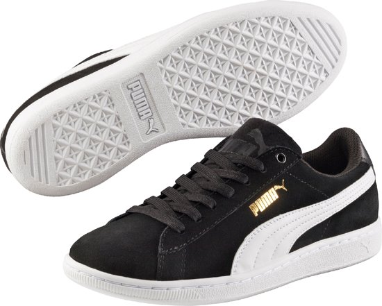 PUMA Sneakers Vikky 362624 02  - Dames - Black-White - Maat 7.5