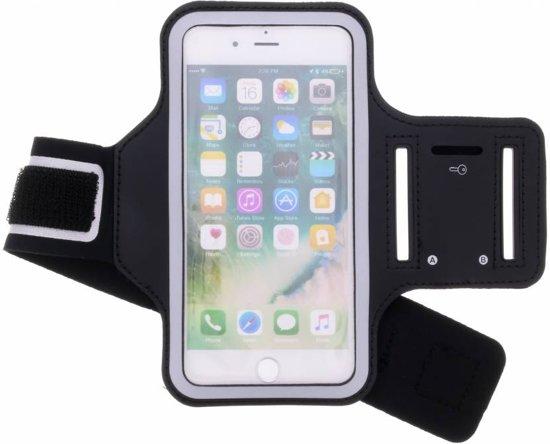 Zwarte sportarmband voor de iPhone 8 Plus / 7 Plus