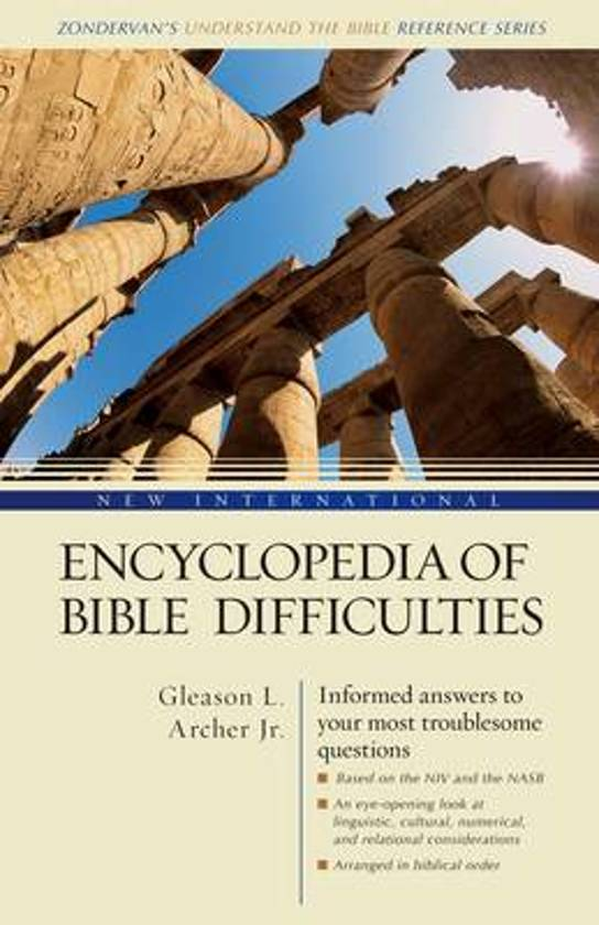 Boek cover New International Encyclopedia of Bible Difficulties van Gleason L. Archer (Hardcover)