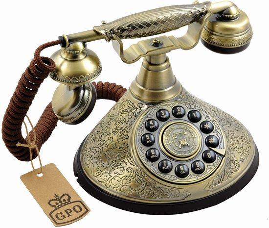 Design Jaren 30.Gpo 1935spush Klassieke Telefoon Naar Eind Jaren 30 Design