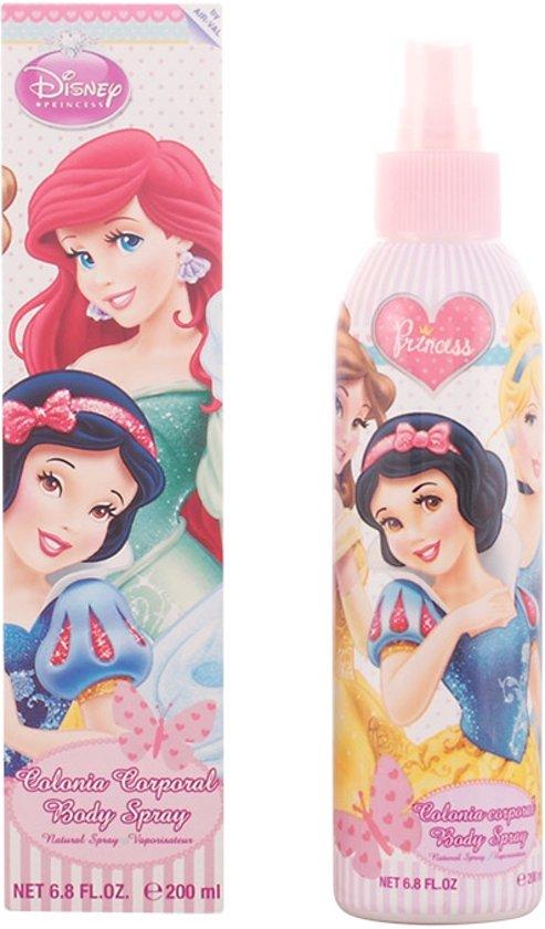 MULTIBUNDEL 3 stuks Disney Princess Eau De Cologne Spray 200ml