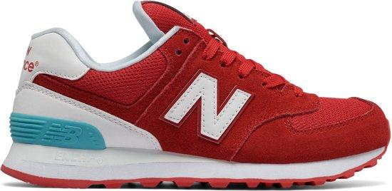 new balance rood wit