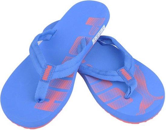 | Puma Epic Flip Slippers Dames Blauw Maat 39