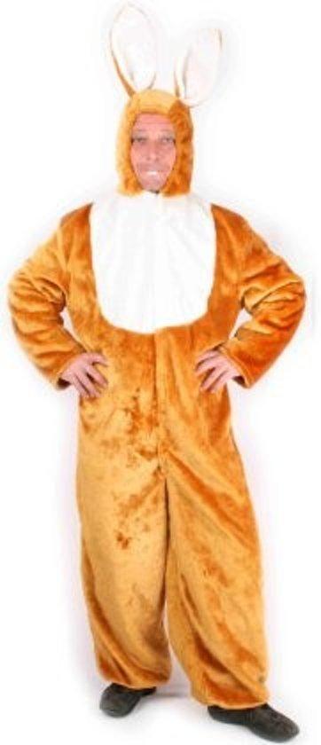 Wonderbaarlijk bol.com | Paashaas pak - Kostuum - Maat L/XL - Bruin, Pasen FQ-78