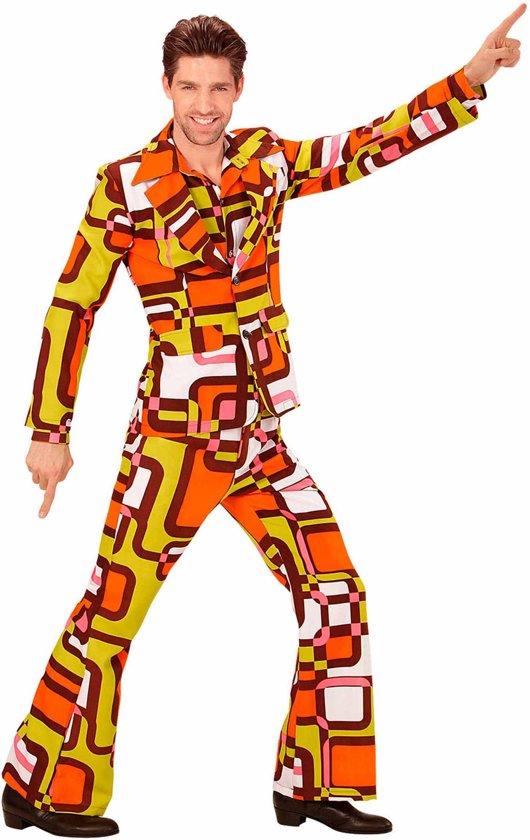 Groovy jaren 70 kostuum voor mannen - Volwassenen kostuums