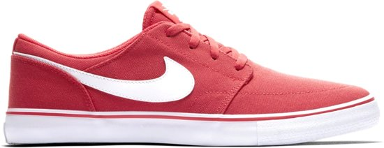 timeless design e1cfc 0d5d8 Nike Sneakers Solarsoft Portmore Ii Canvas Heren Rood Maat 46