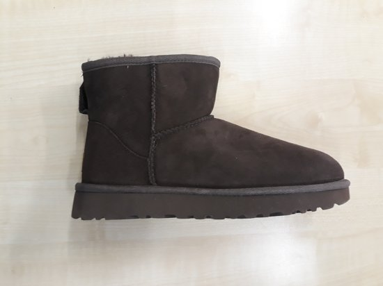Ugg classic mini 2 boots donkerbruin 1016222, maat 41
